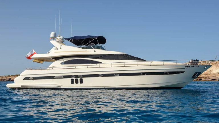 Astondoa 72 charter motor yacht